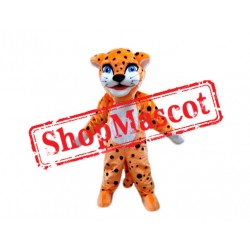 Super Cute Lightweight Leopard Mascot Costume