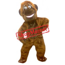 High Quality Brown Monkey Mascot Costume