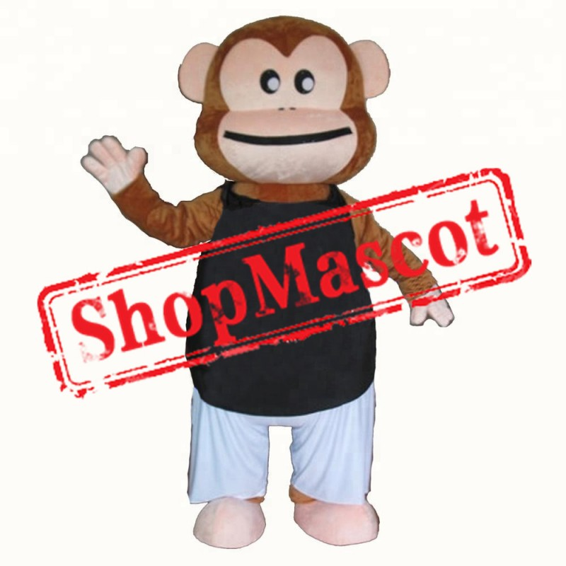 Cheap Lightweight Monkey Mascot Costume