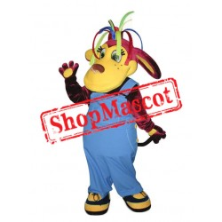Colorful Monkey Mascot Costume