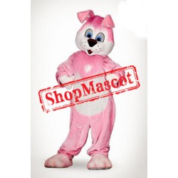 Pink Lightweight Rabbit Mascot Costume