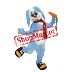 Blue Lightweight Rabbit Mascot Costume