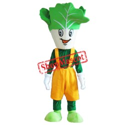 Happy Lightweight Vegetable Mascot Costume