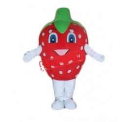 Happy Lightweight Strawberry Mascot Costume