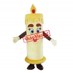 Cheap Candle Mascot Costume