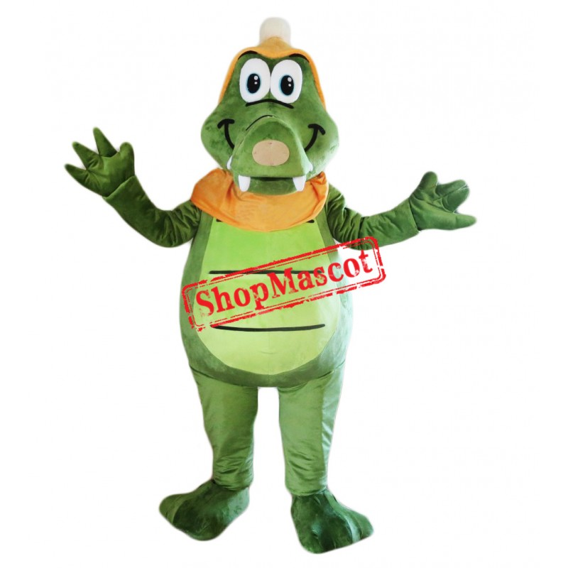 Cheap Happy Lightweight Crocodile Mascot Costume