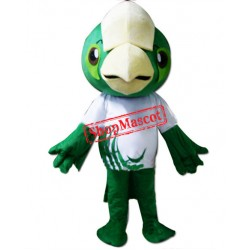 Green Lightweight Parrot Bird Mascot Costume