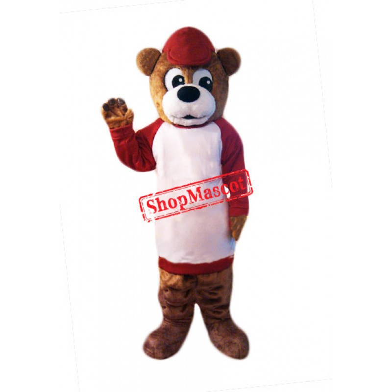 Affable Bear Mascot Costume