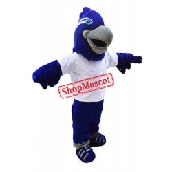 Blue Lightweight Falcon Mascot Costume