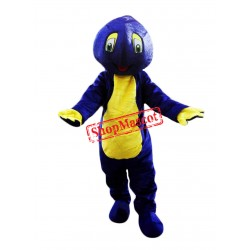 Blue Lightweight Snail Mascot Costume