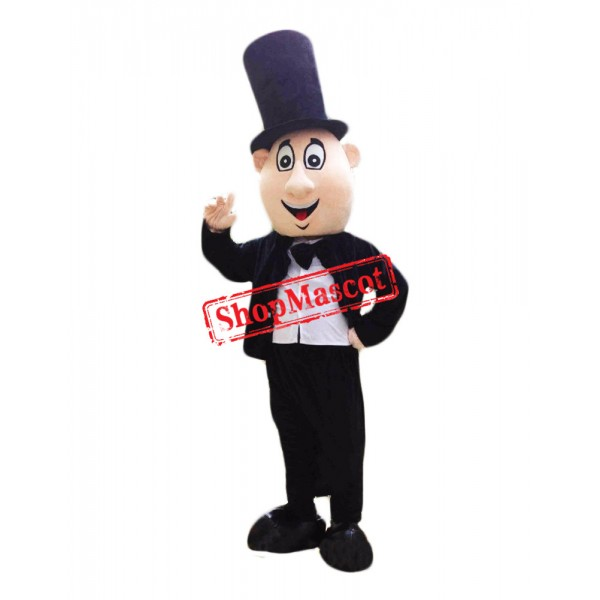 Magic Man Mascot Costume