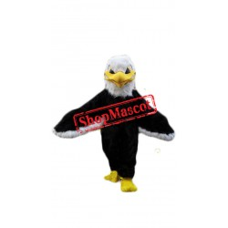 Fierce Lightweight Furry Eagle Mascot Costume
