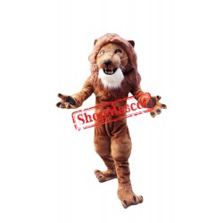 Top Quality Power Muscular Lion Mascot Costume