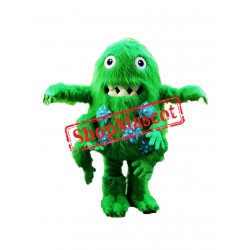 Bacterium Germ Monster Mascot Costume