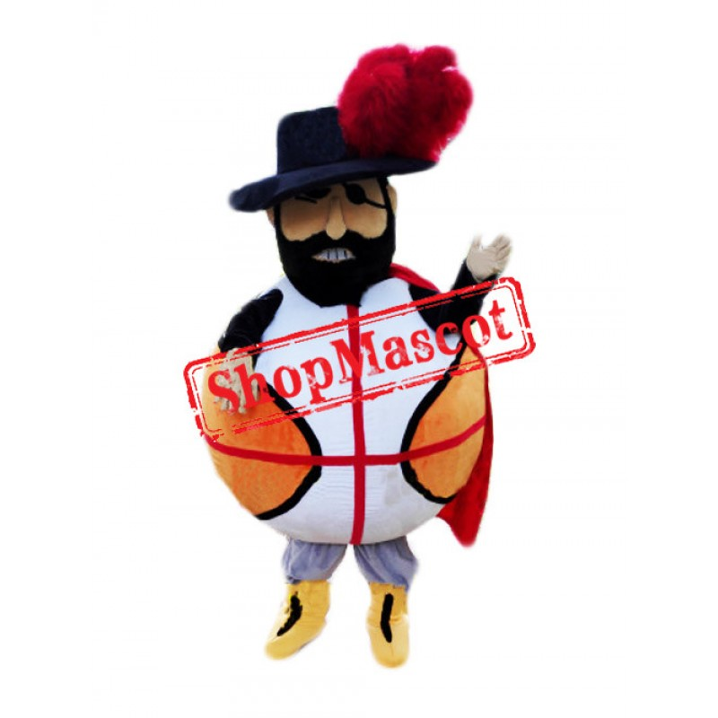 Basketball Pirate Mascot Costume