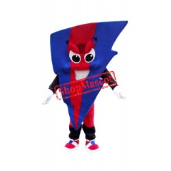Colorful Lightning Mascot Costume