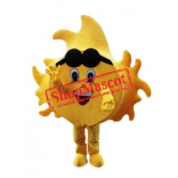 Happy Sun Mascot Costume