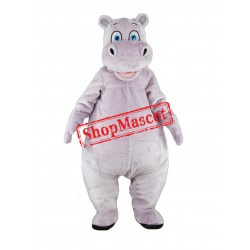 Super Cute Hippo Mascot Costume