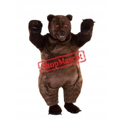 Best Quality Brown Bear Mascot Costume