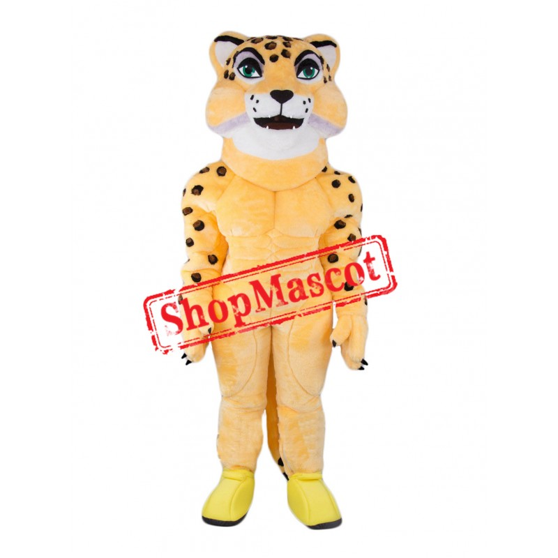 Top Quality Leopard Mascot Costume