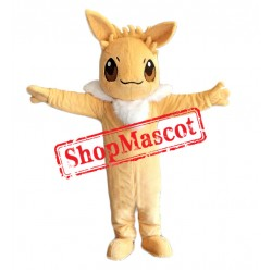 Cheap Eevee Mascot Costume