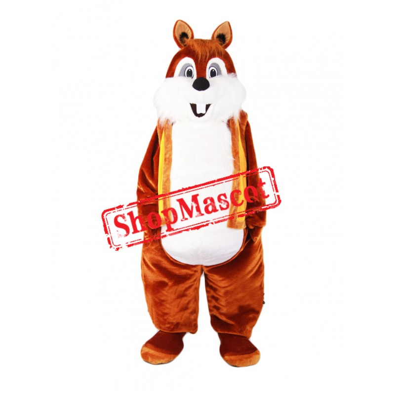 Super Cute Lightweight Chipmunk Mascot Costume
