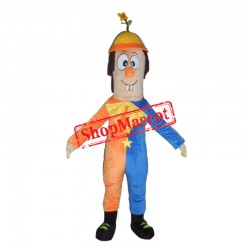 Funny Clown Mascot Costume