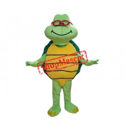 Cheap Green Turtle Custom Mascot Costume