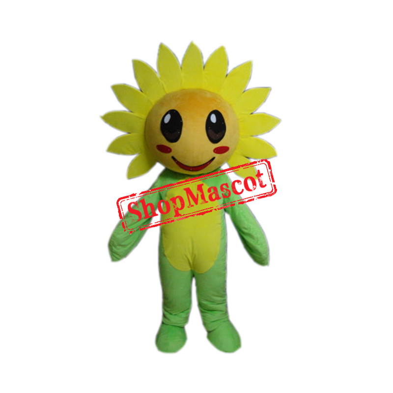 Cheap Sunflower Mascot Costume Free Shipping