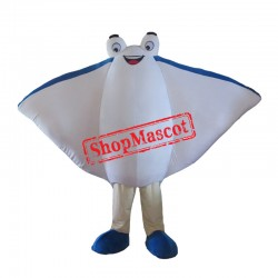 High Quality Manta Ray Mascot Costume