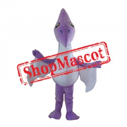 Purple Lightweight Dinosaur Mascot Costume