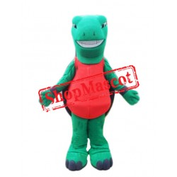 Happy Lightweight Green Turtle Mascot Costume
