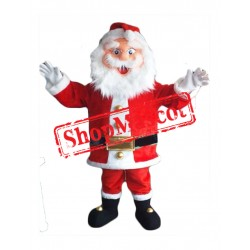 Happy Lightweight Santa Claus Mascot Costume