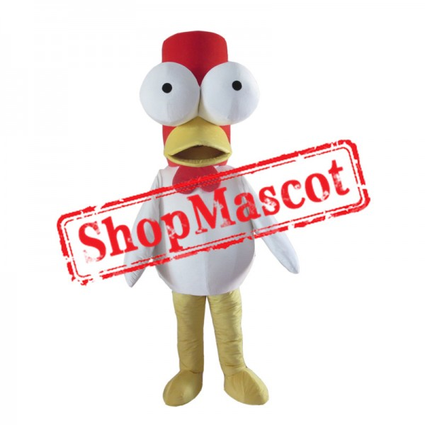 Big Eyes Chicken Mascot Costume