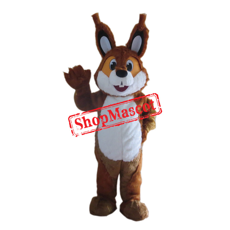 Brown Lightweight Squirrel Mascot Costume
