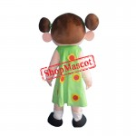 Lovely Big Mouth Girl Mascot Costume