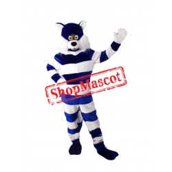 Super Cute Lightweight Blue Cat Mascot Costume