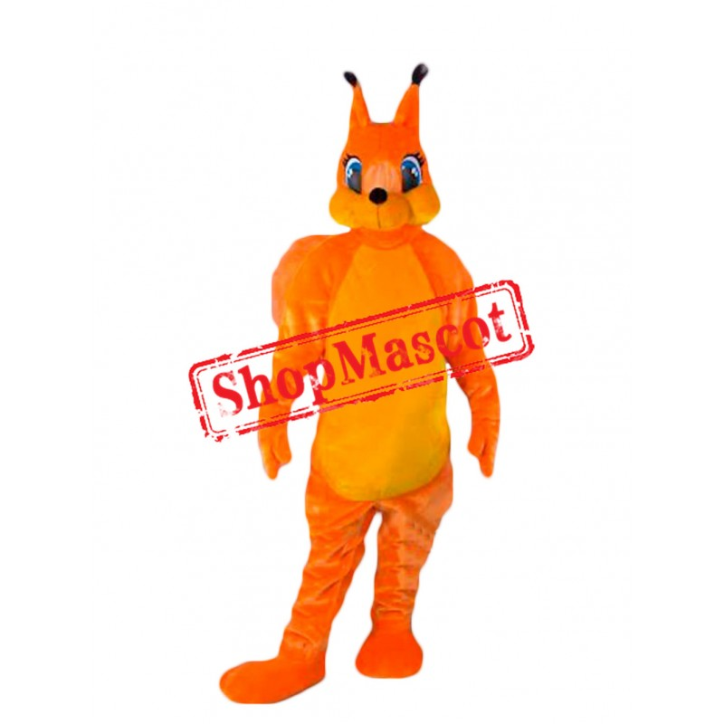 Top Quality Lightweight Squirrel Mascot Costume