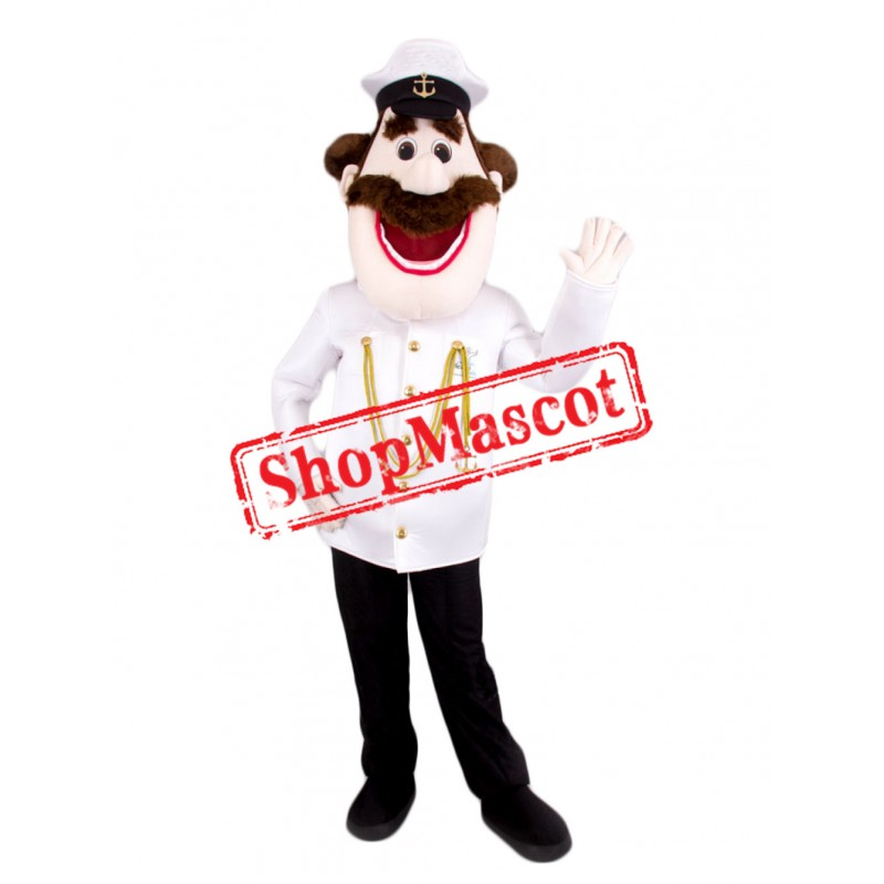Top Quality Captain Mascot Costume