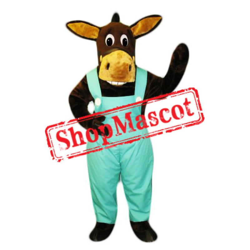 Friendly Lightweight Donkey Mascot Costume