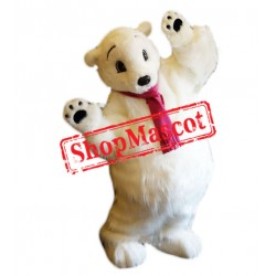 Top Quality Lightweight Polar Bear Mascot Costume