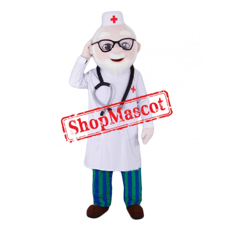 Kindly Doctor Mascot Costume