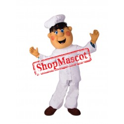 Boy Chef Mascot Costume