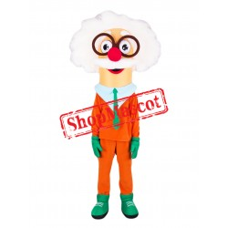 Cute Professor Mascot Costume