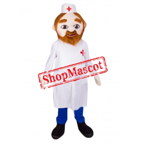 Young Doctor Mascot Costume