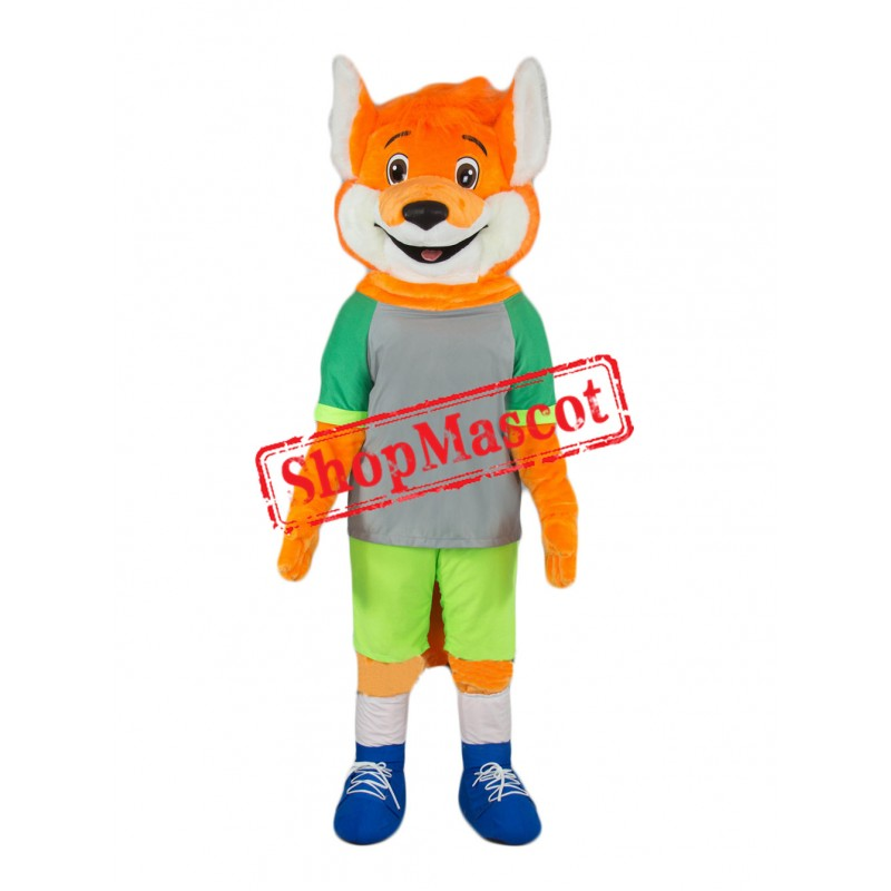 Sport Lightweight Fox Mascot Costume