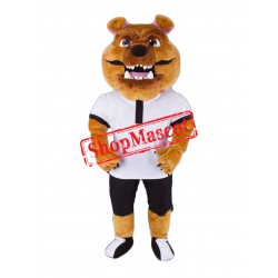 Power Sport Lightweight Bulldog Mascot Costume
