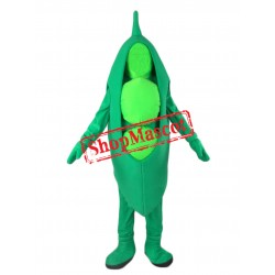 High Quality Pea Mascot Costume