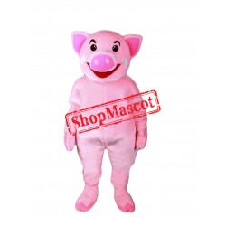 Top Quality Pink Pig Mascot Costume