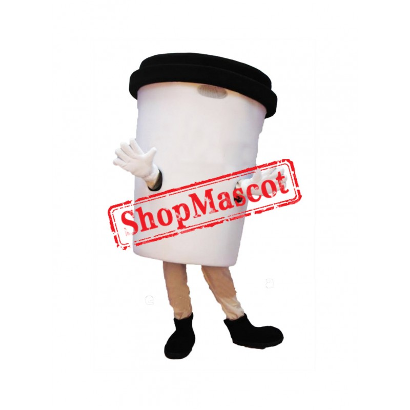 Coffee Cup Mascot Costume